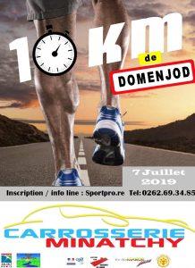 Affiche-10-km-Domenjod-2019