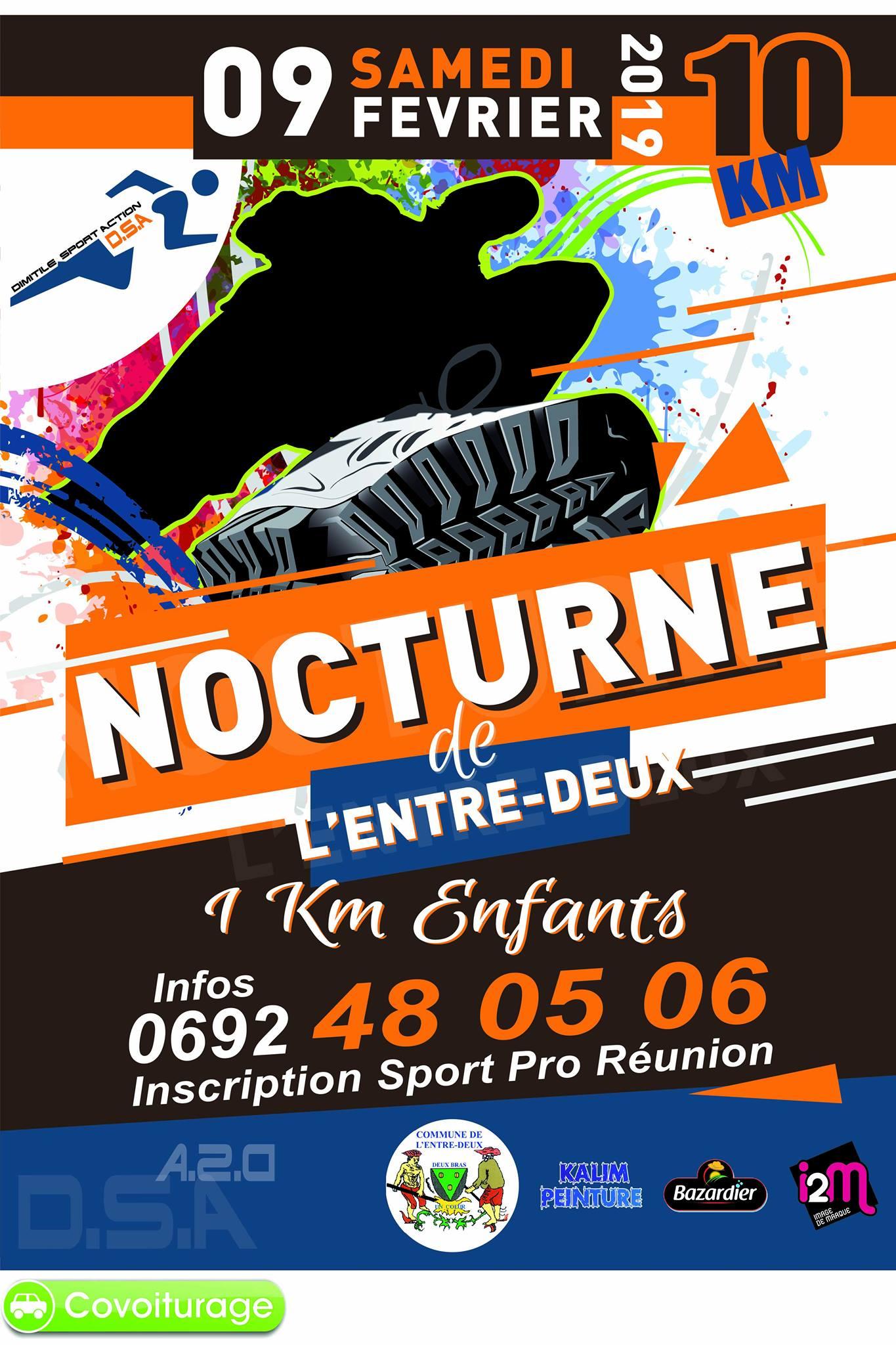 Affiche-10km-nocturne-Entre-Deux-2019