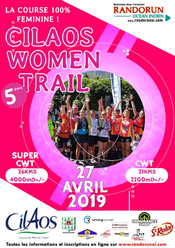 Affiche-Cilaos-Women-Trail-2019