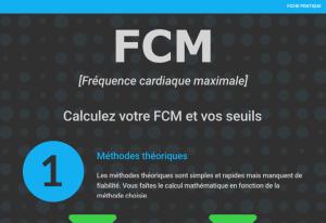 FCM et zones de fréquence cardiaque