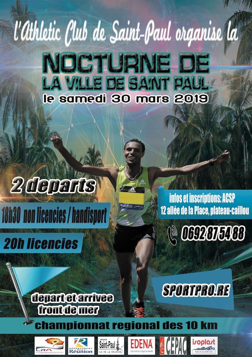 Affiche-10-km-nocturne-Saint-Paul-Championnat