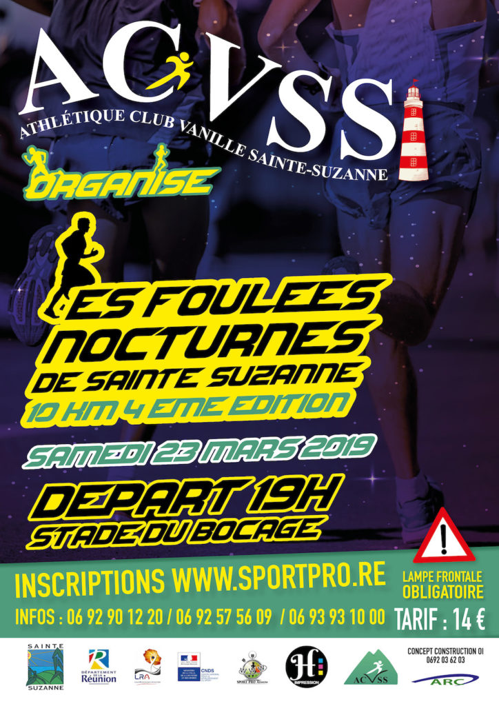 Affiche-Foulées-Nocturnes-Sainte-Suzanne-2019