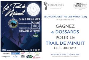 Jeu-concours Trail de Minuit 2019