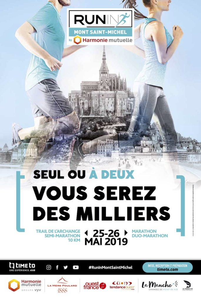 Affiche-Run-In-Mont-Saint-Michel-2019