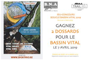 Jeu-concours Boucle du Bassin Vital 2019