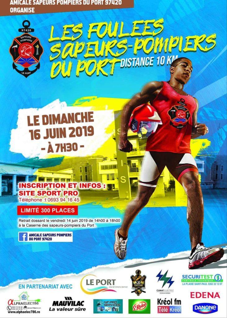 Affiche-Foulées-Sapeurs-Pompiers-du-Port-2019