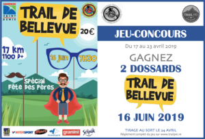 Jeu-concours Trail de Bellevue 2019