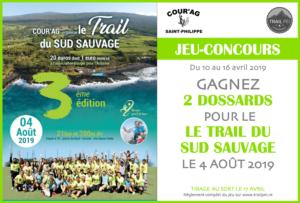 Jeu-concours Trail du Sud Sauvage 2019