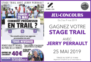Jeu-concours Stage Trail Jerry Perrault