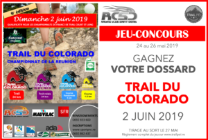 Jeu-concours Trail du Colorado 2019