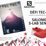 Jeu-concours Salomon Défi Tec-Tec