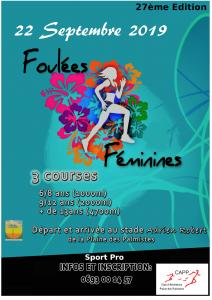 Affiche-Foulées-Féminines-Plaine-2019