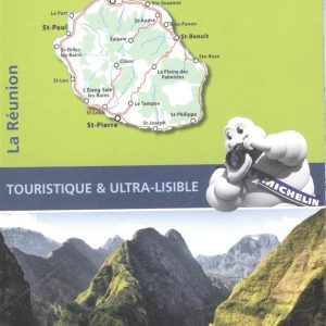 Carte Zoom La Réunion Michelin