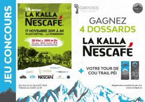 Jeu-concours Kalla Nescafé 2019