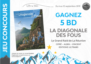 Jeu-concours BD La Diagonale des Fous
