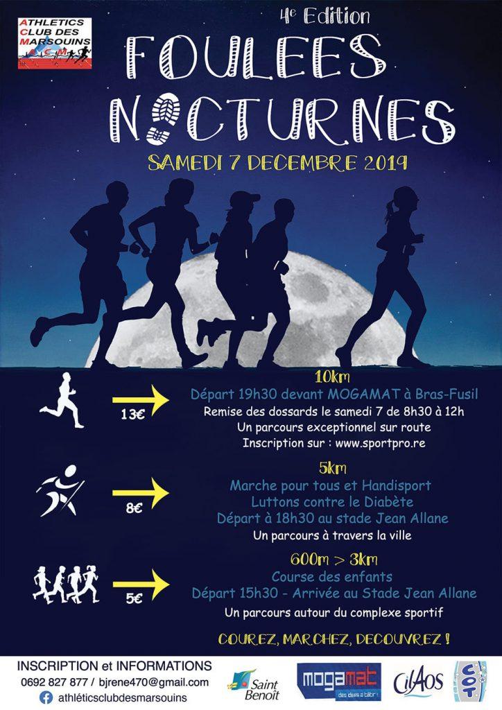 Affiche-Foulées-Nocturnes-Saint-Benoit-2019