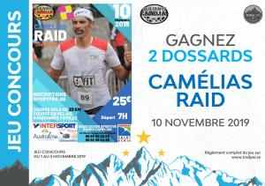 Jeu-concours Camélias Raid 2019
