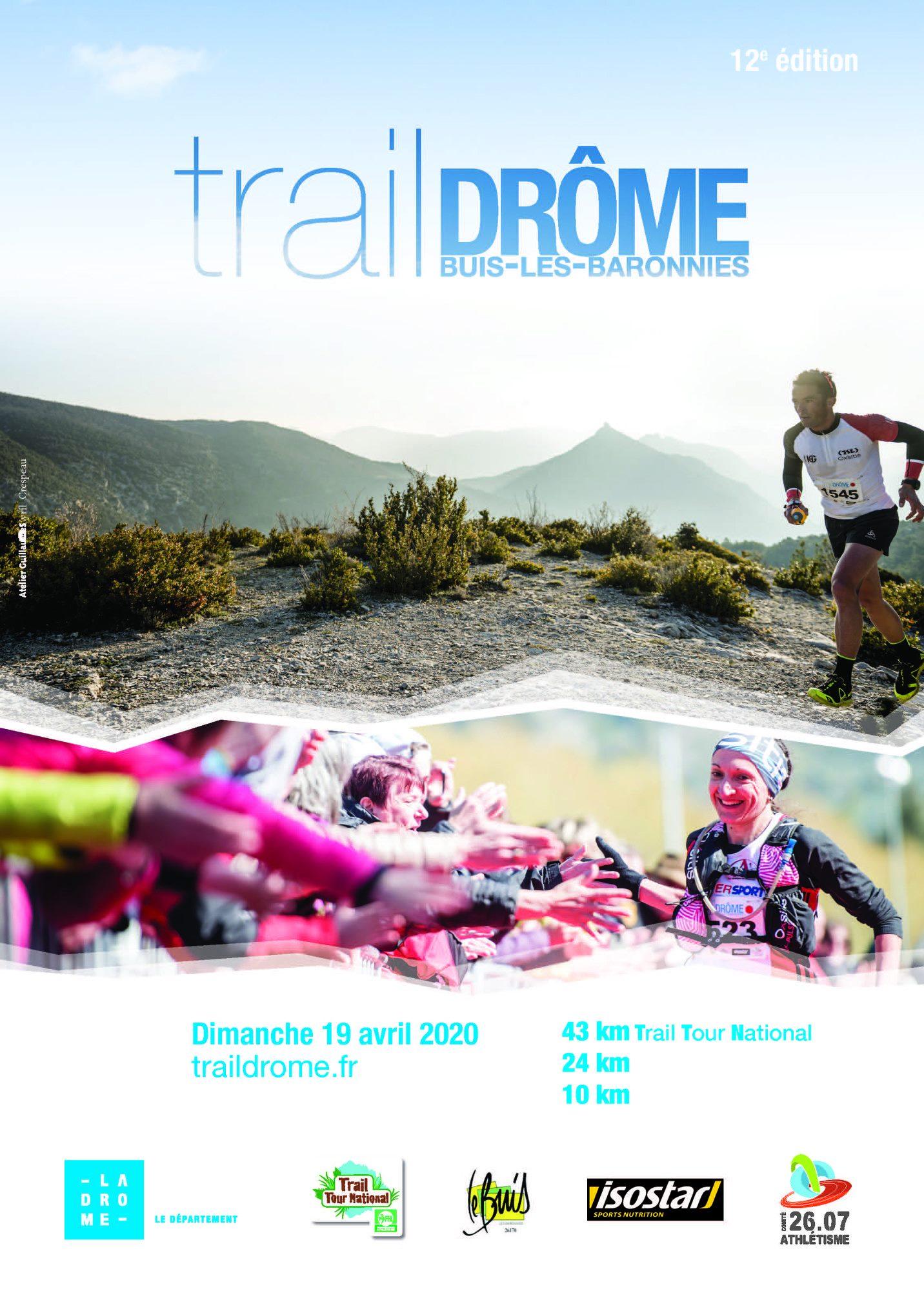 Affiche-Trail-Drome-2020