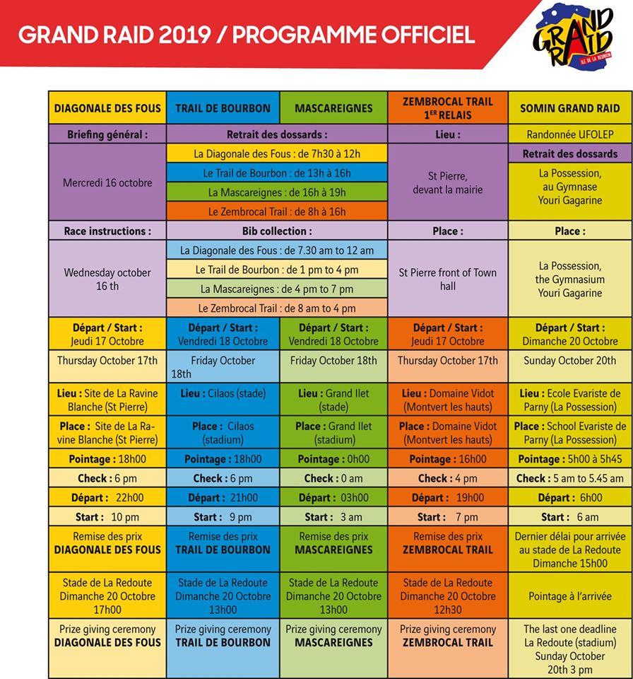 Grand-Raid-Réunion-2019-Programme