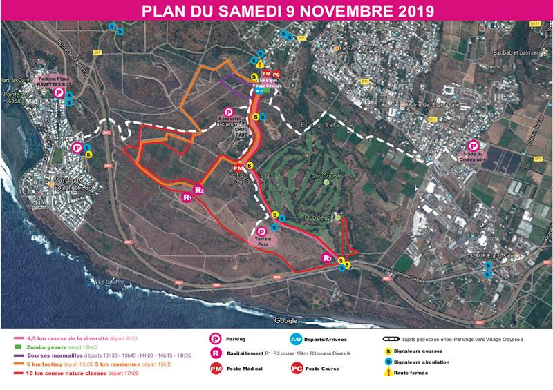 Parcours-10km-Odyssea-Réunion