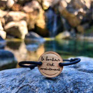Bracelet Le bonheur c'est maintenant