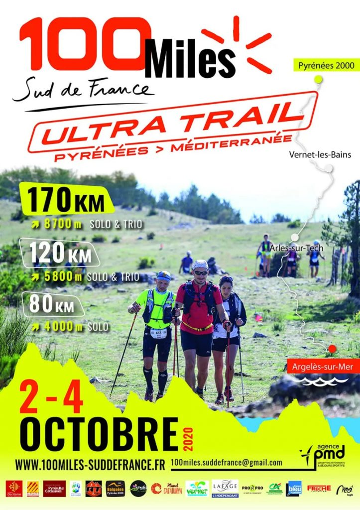 Affiche-100-Miles-Sud-de-France-2020