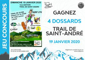 Jeu-concours Trail de Saint-André 2020