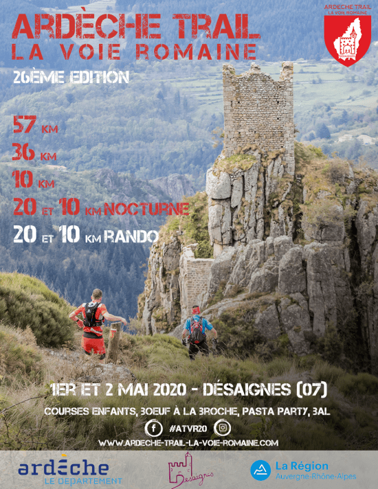 Affiche-Ardèche-Trail-La-Voie-Romaine-2020