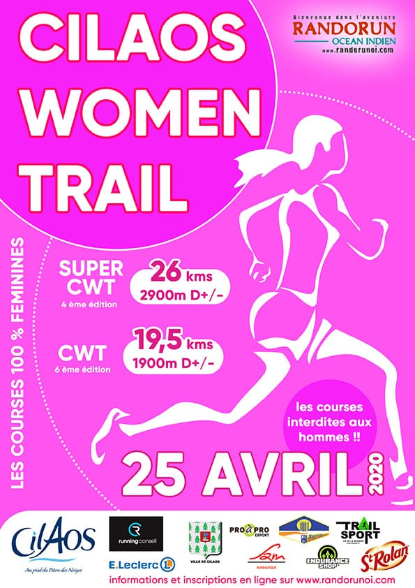Affiche-Cilaos-Women-Trail-2020