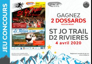 Jeu-concours St Jo Trail D2 Rivières 2020
