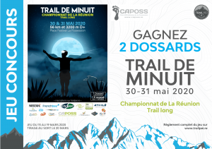 Jeu-concours Trail de Minuit 2020