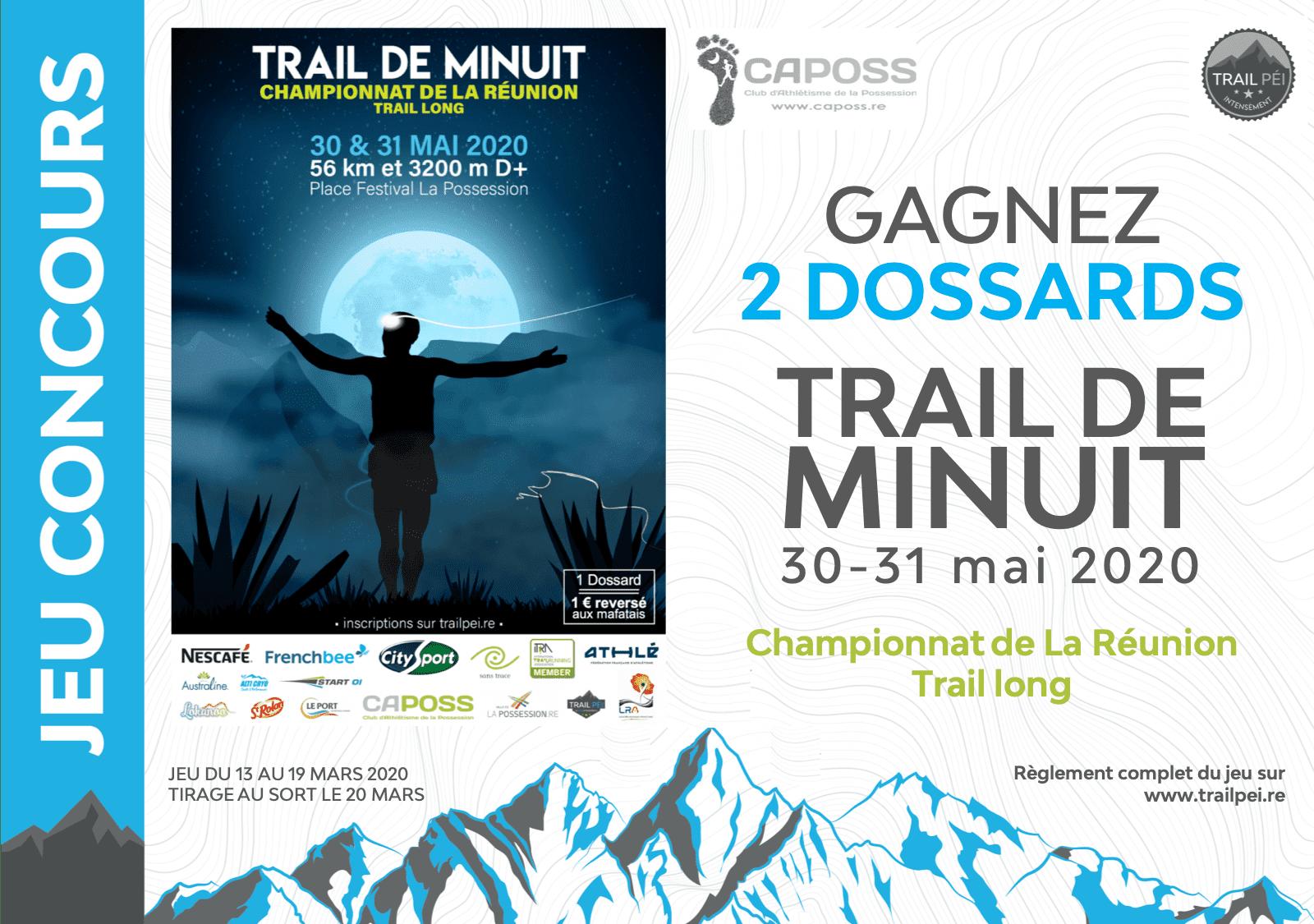 Jeu Concours Trail De Minuit 2020 Trail Pei