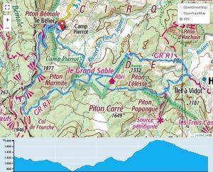 TP Parcours Boucle Bélier - Grand Sable - Trou Blanc - Plaine des Merles Trail Péi