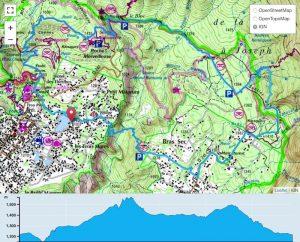 TP Parcours Boucle Cilaos - Bras Sec - Plateau des Chênes Trail Péi