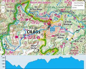 TP Parcours Boucle Cilaos - La Chapelle - Ilet à Cordes - Bras Sec Trail Péi