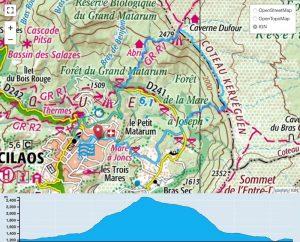 TP Parcours Boucle Cilaos - Le Bloc - Kerveguen Trail Péi