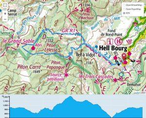 TP Parcours Boucle Hell-Bourg - Trou Blanc Trail Péi
