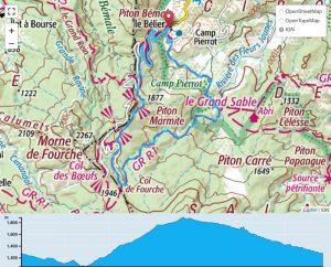 TP Parcours Boucle Le Bélier - Plaine des Merles Trail Péi