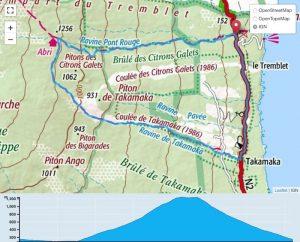 TP Parcours Boucle Le Tremblet - Piton Takamaka Trail Péi