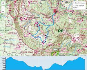 TP Parcours Boucle Mafate 20k depuis Col des Boeufs Trail Péi