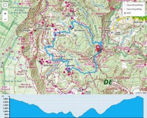 TP Parcours Boucle Mafate 30k depuis Col des Boeufs Trail Péi