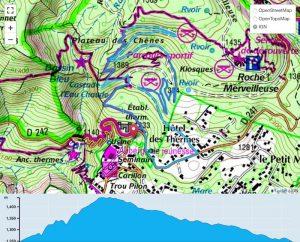 TP Parcours Boucle Plateau des Chênes Trail Péi