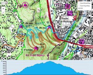 TP Parcours Boucle Rampes de la Montagne Trail Péi