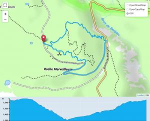 TP Parcours Boucle Roche Merveilleuse Trail Péi