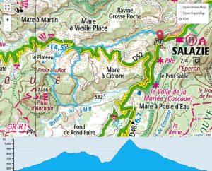 TP Parcours Boucle Salazie - Piton Maillot Trail Péi