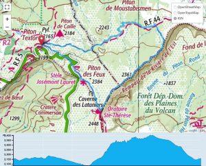 TP Parcours Boucle Textor - Rivière de l'Est Trail Péi