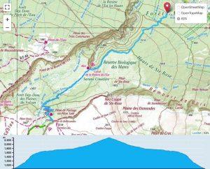TP Parcours Citernes de Saint-Rose - Pas de Bellecombe Trail Péi