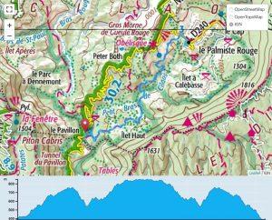 TP Parcours Le Pavillon - Palmiste Rouge Trail Péi
