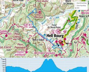 TP Parcours Piton d'Anchaing depuis Hell-Bourg Trail Péi