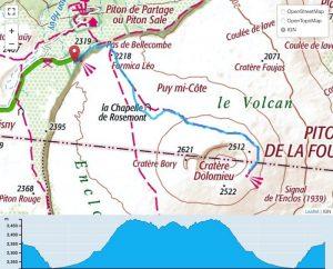 TP Parcours Piton de la Fournaise depuis Pas de Bellecombe Trail Péi